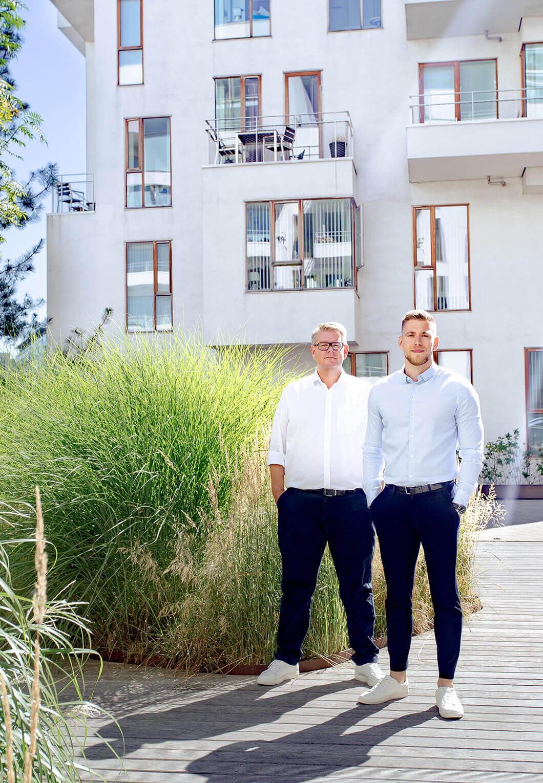 Rently Founders - Peter H. Lange & Niklas Mathiesen